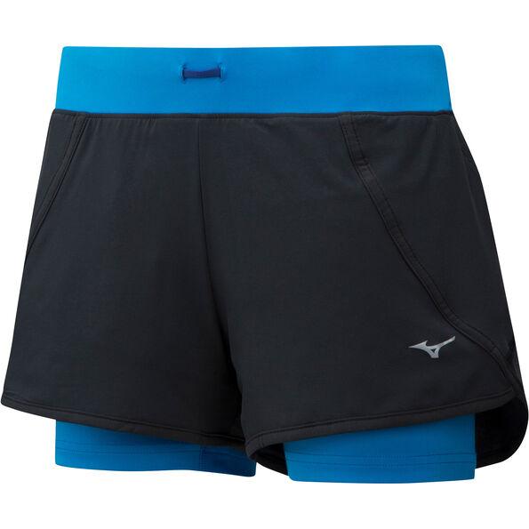 Mizuno Mujin 4.5 2in1 Shorts Damen