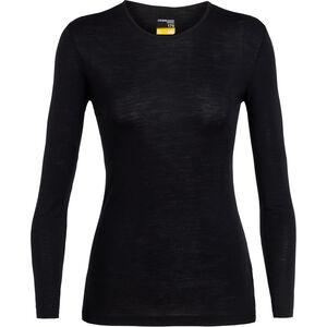 Icebreaker 175 Everyday LS Crew Shirt Women Black bei fahrrad.de Online