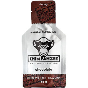 Chimpanzee Energy Gel Box Schokolade mit Himalaya Salz (Vegan) 25 x 35g