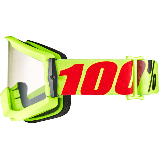 100% Strata Goggles mercury-clear