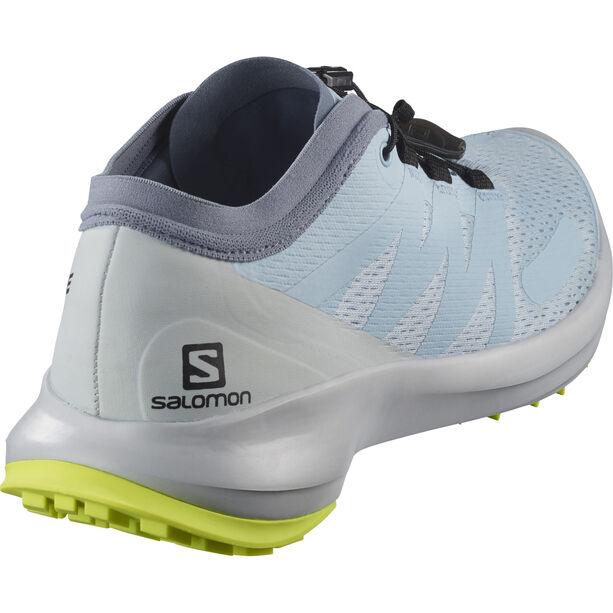 Salomon Sense Flow Schuhe Damen angel falls/pearl blue/safety yello