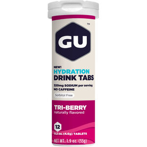 GU Energy Hydration Drink Tabs 12 Stück Triberry
