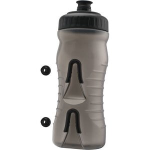 Fabric Cageless Bottle 600ml grey/black grey/black