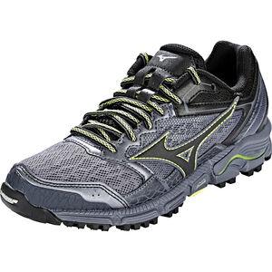Mizuno Wave Daichi 3 Running Shoes Damen folkstone gray/black/sunny lime folkstone gray/black/sunny lime