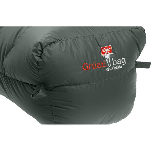 Grüezi-Bag Biopod DownWool Summer 185 Sleeping Bag deep forest