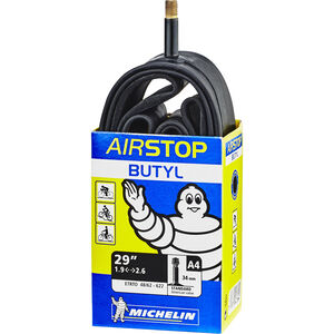 """Michelin Airstop A4 Fahrradschlauch 28-29"""" schwarz"""