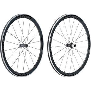 FSA Vision Trimax Carbon 45 Laufradsatz Clincher Shimano schwarz/grau