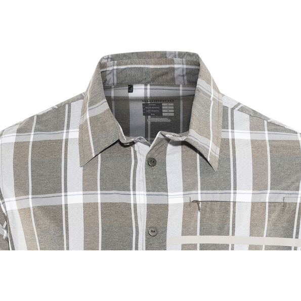 Shimano Transit Check Longsleeve Button Up Shirt Herren