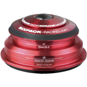 Sixpack SXR 2In1 Steuersatz ZS44/28.6 I ZS56/30 and ZS44/28.6 I ZS56/40 red red
