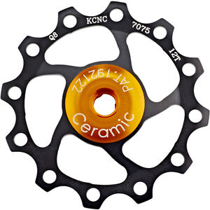 KCNC Jockey Wheel 12 Zähne Ceramic Bearing schwarz