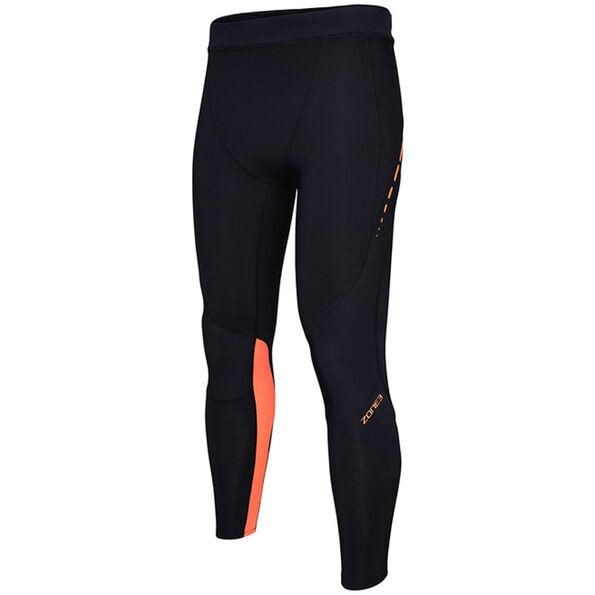 Zone3 Compression Hose Damen black/neon orange