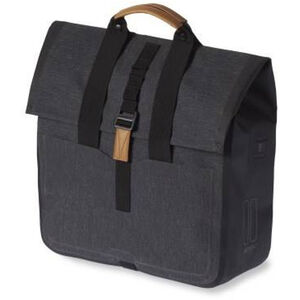 Basil Urban Dry Luggage Pannier Shopper 25l charcoal melee charcoal melee