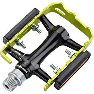 NC-17 Trekking Pro Pedals Alu schwarz/grün schwarz/grün