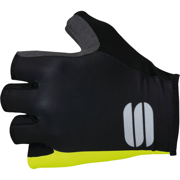 Sportful Bodyfit Pro Gloves black/yellow fluo