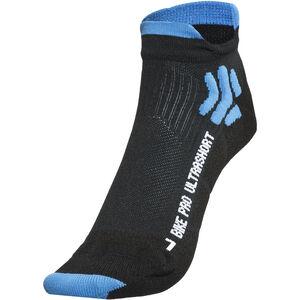 X-Socks Bike Pro Ultrashort Socks Men Black/French Blue
