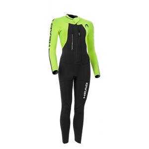 Head Swimrun Rough 4.3.2 Wetsuit Ladies Black/Yellow bei fahrrad.de Online