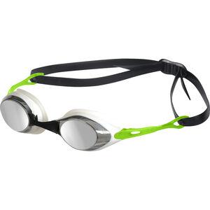 arena Cobra Mirror Goggles smoke-silver-green smoke-silver-green