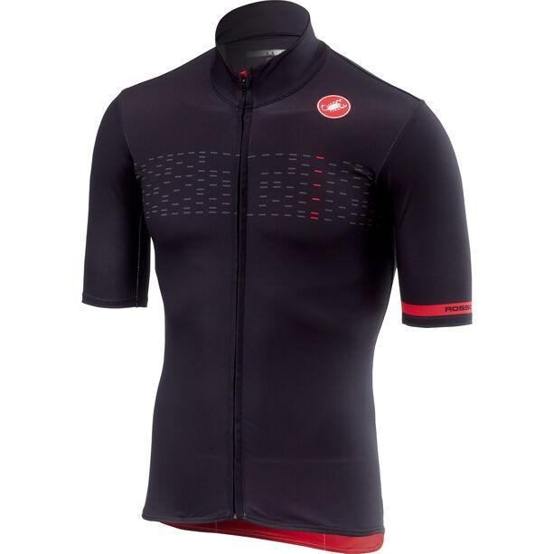Castelli Mid Weight Shortsleeve Jersey Herren light black