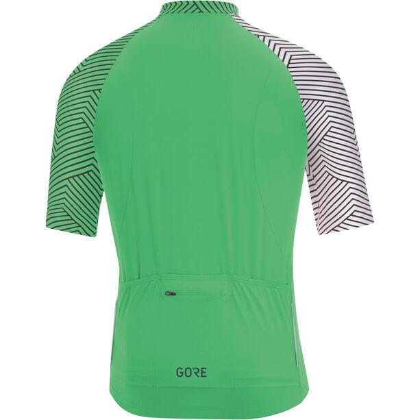 GORE WEAR C5 Optiline Jersey Herren desert green/white