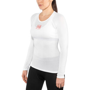 Compressport 3D Thermo UltraLight LS Shirt Unisex White bei fahrrad.de Online