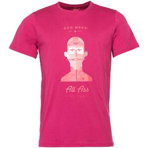 Triple2 Laag Face T-Shirt Herren beet red beet red