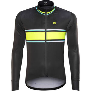 Alé Cycling R-EV1 Speedfondo Jacket Men Black-Floud Yellow-Turquoise