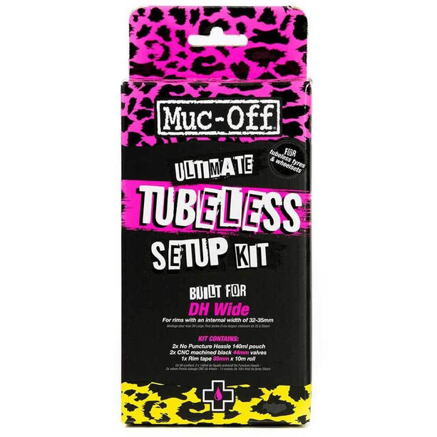 Muc-Off Ultimate Tubeless Setup Kit DH/Plus