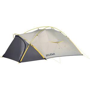 SALEWA Litetrek Pro II Tent light grey/mango light grey/mango