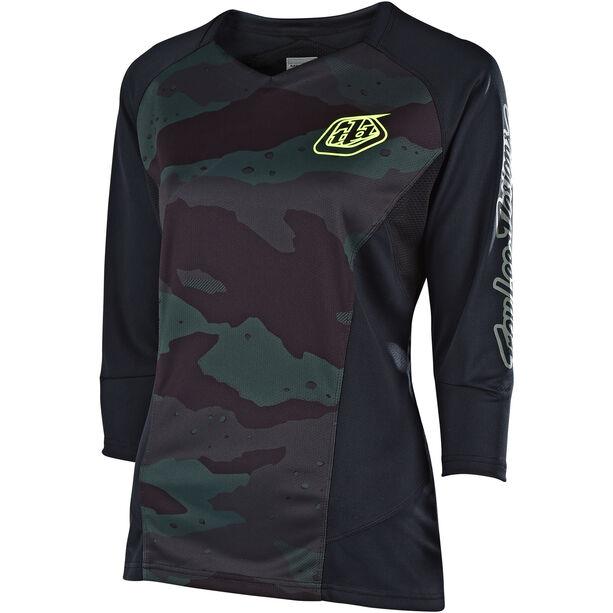 Troy Lee Designs Ruckus 3/4 Jersey Damen camo/black/green
