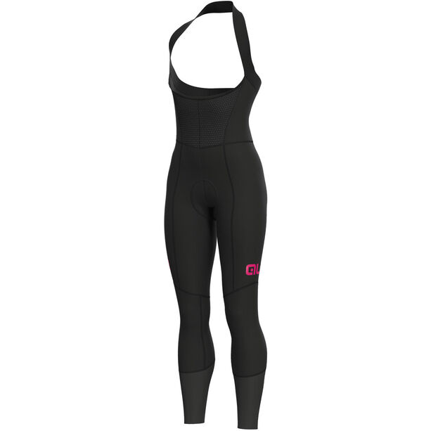 Alé Cycling Clima Protection 2.0 Future Be-Hot Trägerhose Damen black-fluo pink