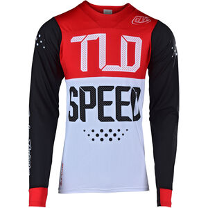 Troy Lee Designs Skyline Air LS Jersey Herren speedshop/black/red speedshop/black/red