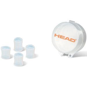 Head Silicone Moulded Ear Plug clear clear