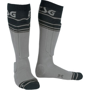 TSG Riot Socks grey-striped grey-striped