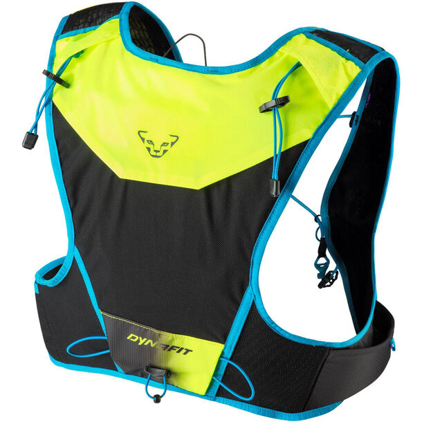 Dynafit Vert 4 Backpack fluo yellow/blue