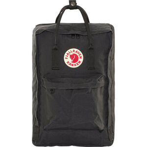 "Fjällräven Kånken Laptop 17"" Backpack black black"