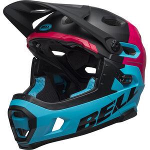 Bell Super DH MIPS Helmet matte/gloss black/berry/blue bei fahrrad.de Online