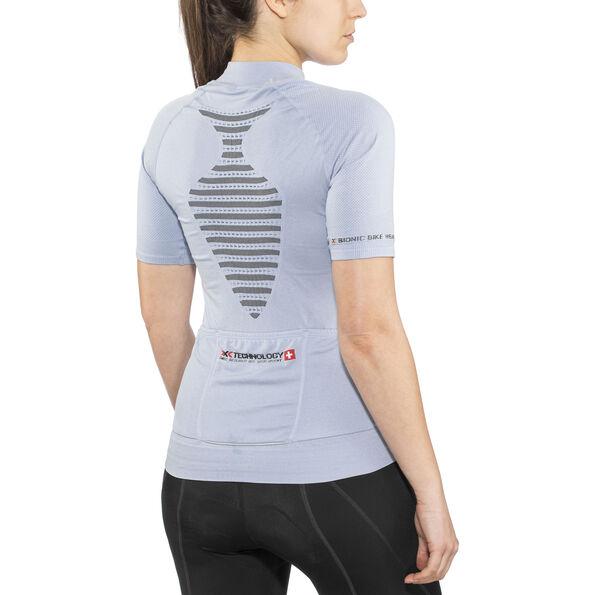 X-Bionic Biking Ae Lady Race Ow Shirt Sh_Sl. Damen