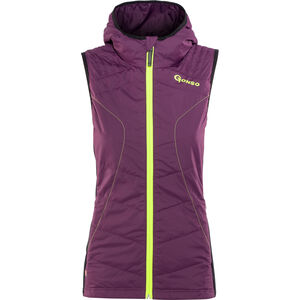 Gonso Destin Thermo Weste Damen plum purple