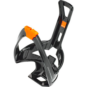 Elite Cannibal XC Flaschenhalter schwarz glänzend/orangene grafik schwarz glänzend/orangene grafik