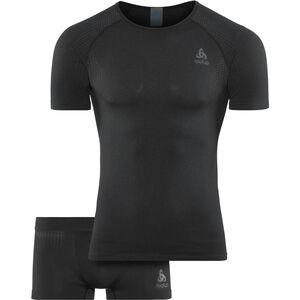 Odlo Performance Essentials Light Set Herren black - odlo graphite grey black - odlo graphite grey