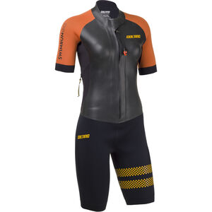 Colting Wetsuits Swimrun Go Wetsuit Damen black/orange black/orange