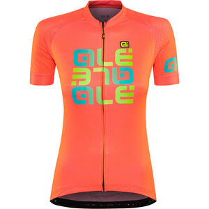Alé Cycling Solid Mirror SS Jersey Damen lollipop lollipop