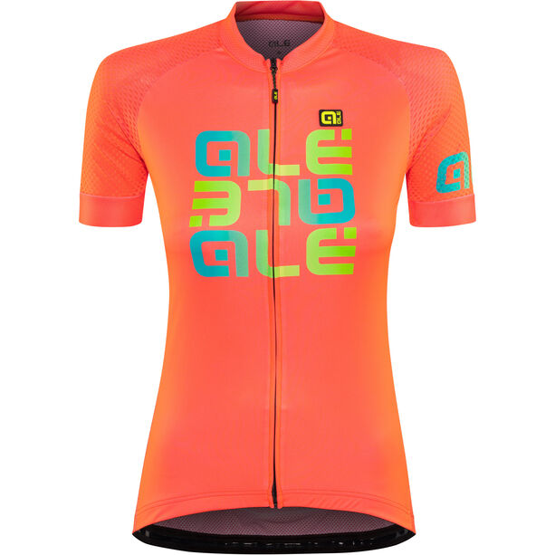 Alé Cycling Solid Mirror SS Jersey Damen lollipop