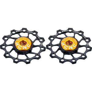 KCNC Jockey Wheel Ultra 13 Zähne SS bearing 1 Paar black