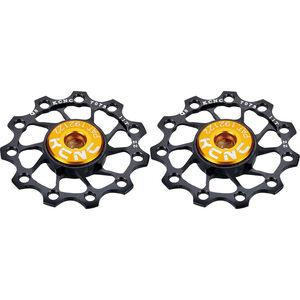 KCNC Jockey Wheel Titan 10 Zähne SS bearing 1 Paar black black