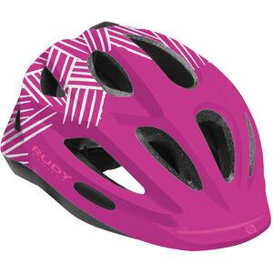 Rudy Project Rocky Helmet Kinder purple-white shiny purple-white shiny