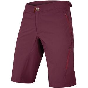 Endura SingleTrack Lite II 500 Series Shorts Men with Liner mulberry bei fahrrad.de Online