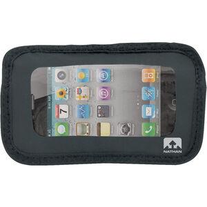 Nathan Weather-Resistant Phone Pocket Black bei fahrrad.de Online