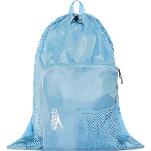 speedo Deluxe Ventilator Mesh Bag 35l sky blue sky blue