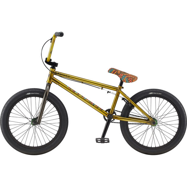 "GT Bicycles Performer 20"" glossy translucent yellow"